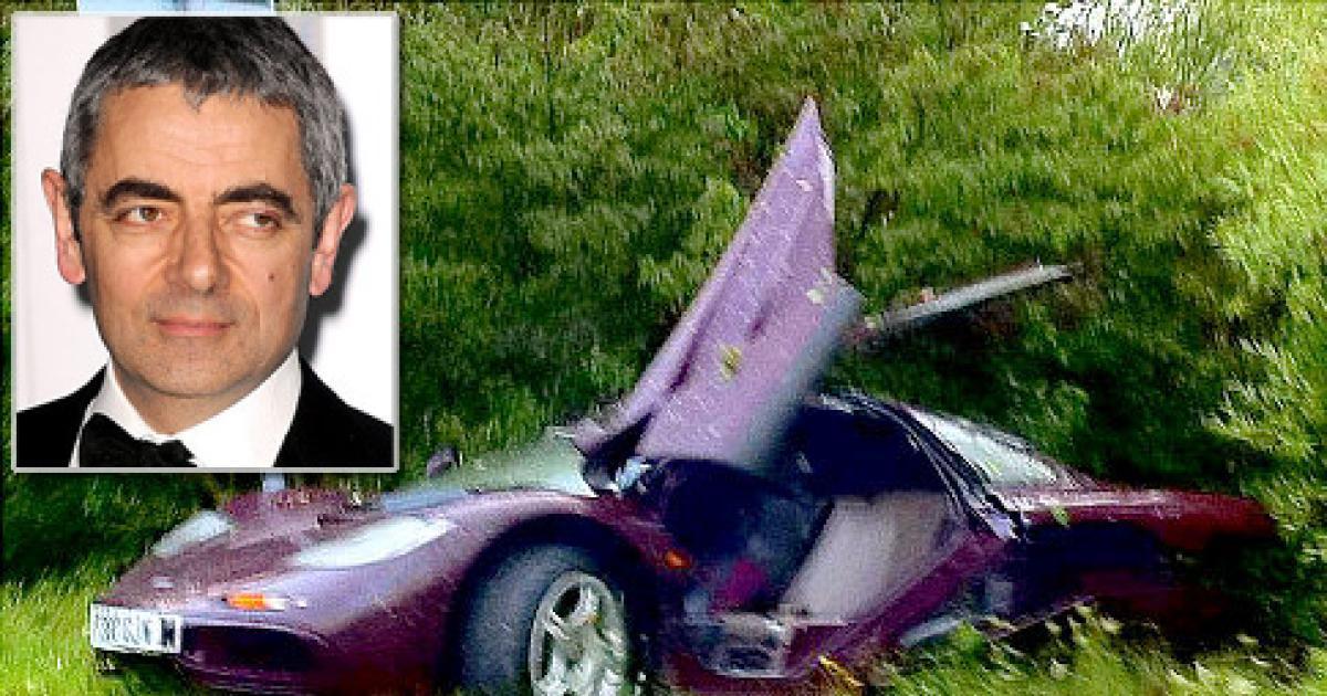 Rowan Atkinson Death Car Accident