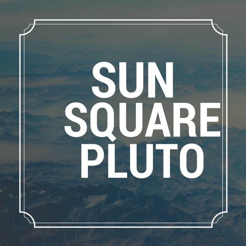 Sun Square Pluto Astrology Aspect Astroligion